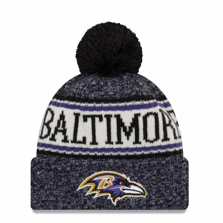 Baltimore Ravens Téli kötött sapka 46f96b3159