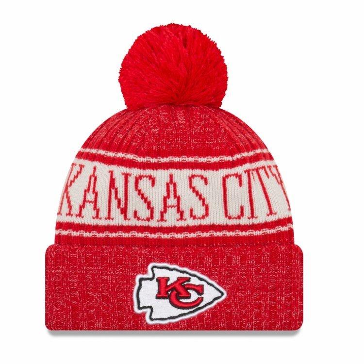 Kansas City Chiefs Téli kötött sapka 8294f041e0