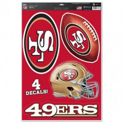 49ers - Multi-Use Matricaszett