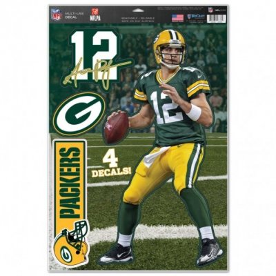 Aaron Rodgers - Multi-Use Matricaszett