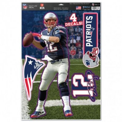 Tom Brady - Multi-use matricaszett