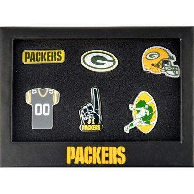 Packers - 6db-os Jelvény Szett