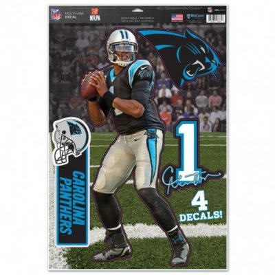 Cam Newton - Multi-Use Matricaszett