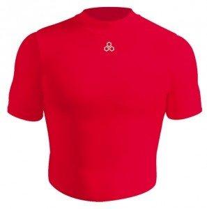 883Y kompressziós gyermek aláöltöző felső - Piros