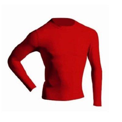 894Y hosszú ujjú aláöltöző GYERMEK Piros - L