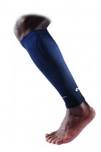 8836 ELITE Calf Sleeve with targeted compression - Black/Blue
