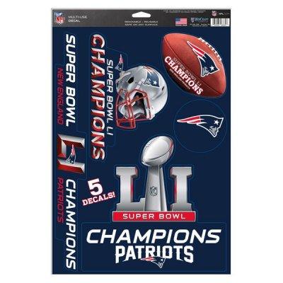 Patriots - LI Super Bowl Champions - Matrica szett