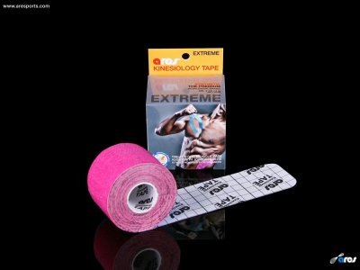 ARES EXTREME Kinesio Tape -  METÁL PINK