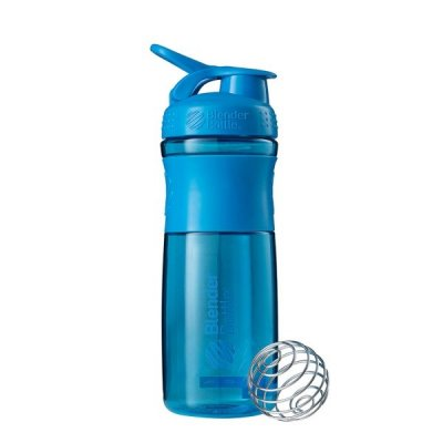 Sportmixer® Grip 820 ml - Cyan