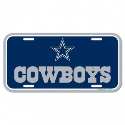 Cowboys - Rendszámtábla 15x30cm