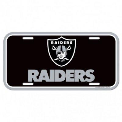 Raiders - Rendszámtábla 15x30cm