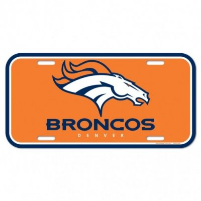 Broncos - Rendszámtábla 15x30cm