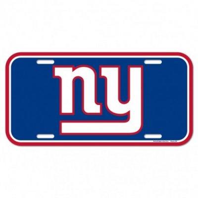 Giants - Rendszámtábla 15x30cm