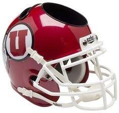 Utah Utes - NCAA Írószertartó minisisak