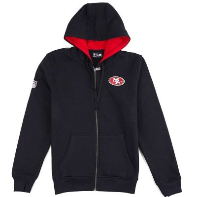 49ers - New Era NFL Full Zip pulóver