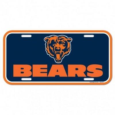 Bears - Rendszámtábla