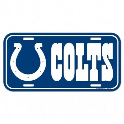 Colts - Rendszámtábla