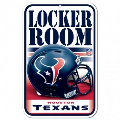 Texans - Locker Room ajtótábla