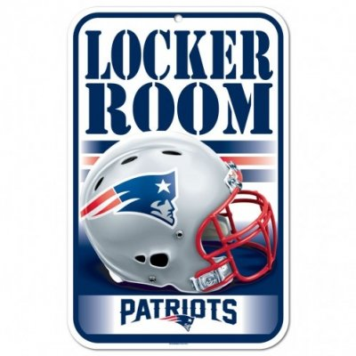 Patriots - Locker Room ajtótábla