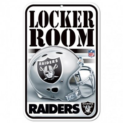 Raiders - Locker Room ajtótábla