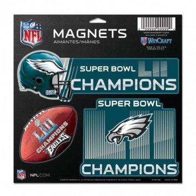 Eagles - SB52 Champions 3db-os lapmágnes szett