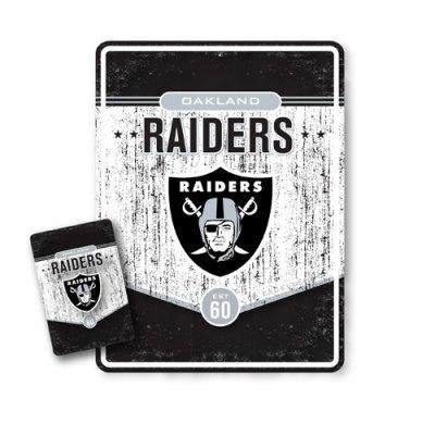 Raiders - NFL RETRO FÉMTÁBLA + MÁGNES SZETT