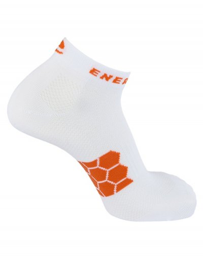 Energy Everyday Socks - White ( 2pack)