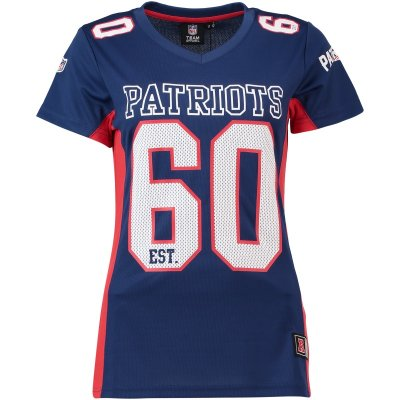 PATRIOTS - WOMEN MORO POLY MESH TEE
