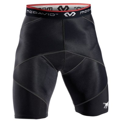 8200 McDavid Cross Compression Short - Black