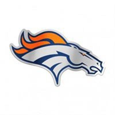 Broncos - Autó Matrica (12cm x 19cm)
