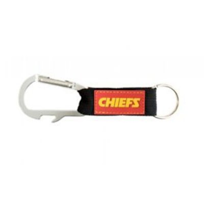 Chiefs - Carabiner Keyring and Bottle Opener