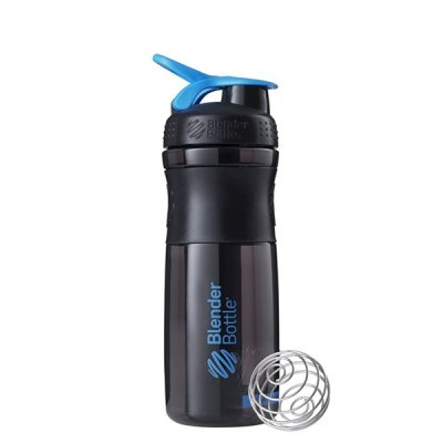 SPORTMIXER® GRIP 820 ML - Black/Cyan