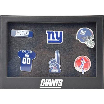Giants - 6db-os NFL  Jelvény Szett