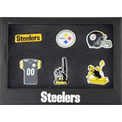 Steelers - 6db-os NFL  Jelvény Szett