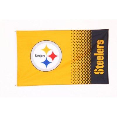 Steelers - FADE Zászló