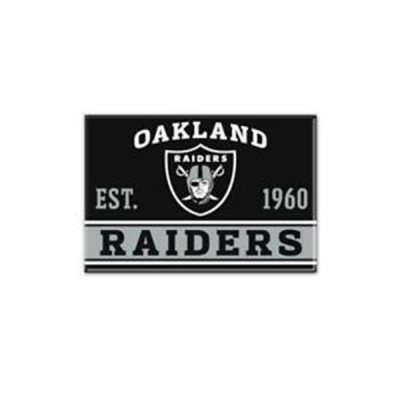 Raiders - Fém Mágnes 9cm x 6cm