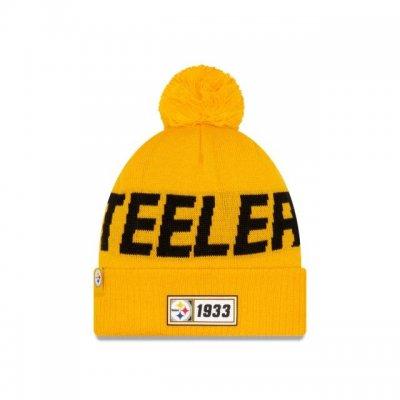 Steelers - ONF19 NUMBER Kötött téli sapka - Sárga
