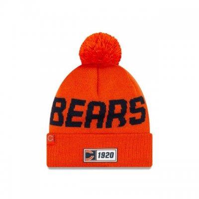 Bears - ONF19 NUMBER Kötött téli sapka - Narancssárga
