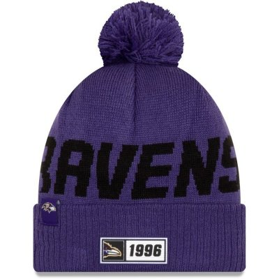 Ravens - ONF19 NUMBER Kötött téli sapka - Lila