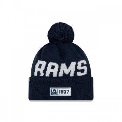 Rams - ONF19 NUMBER Kötött téli sapka - Navy Kék