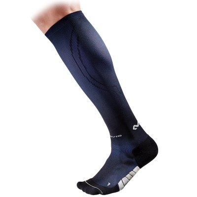 8832 ELITE Célzott kompressziós zokni FUTÓKNAK - Fekete / Kék