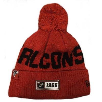 Falcons - ONF19 NUMBER Kötött téli sapka - Piros