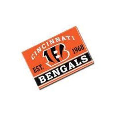 Bengals - Fém Mágnes 9cm x 6cm