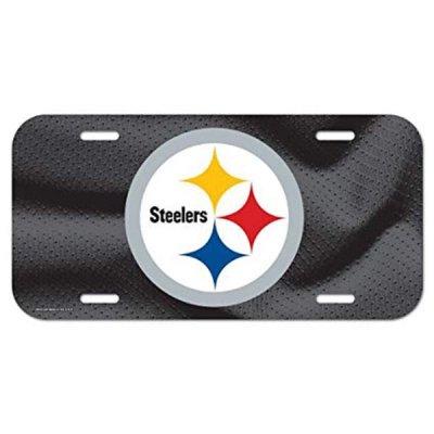 Steelers - Rendszámtábla 15x30cm