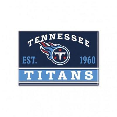 Titans - Fém Mágnes 9cm x 6cm