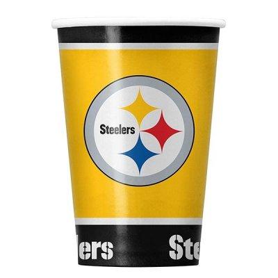 Steelers - Papírpohár 20db-os