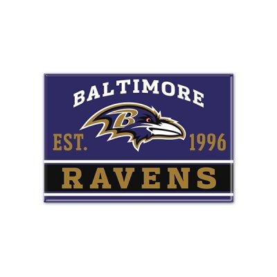 Ravens - Fém Mágnes 9cm x 6cm