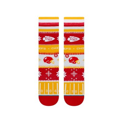 Chiefs - Zokni/Holiday Sweater Red