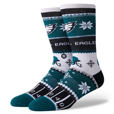 Eagles - Zokni/Holiday Sweater Green
