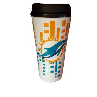 Dolphins - Műanyag pohár zárható tetővel